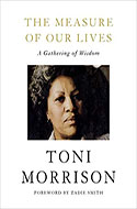 Discounted copies of The Measure of Our Lives by Toni Morrison