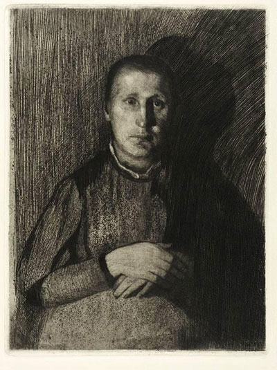 Woman with Crossed Hands - 1898