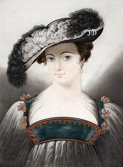 Portrait Art: Mademoiselle Lundens