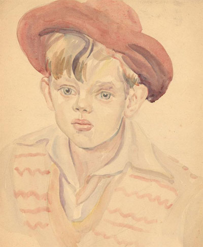 Portrait Art: Portrait of a Boy