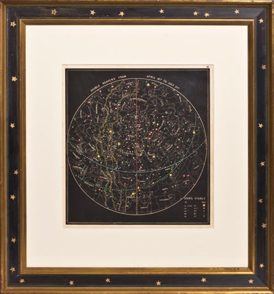 Wall Art: Visible Heavens from April 18th - July 21st