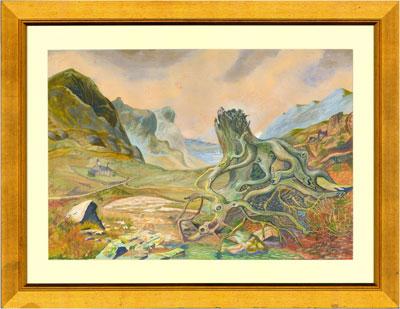 Wall Art: Scottish Highlands