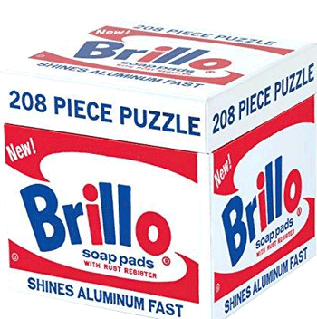 The Andy Warhol Brillo soap puzzle