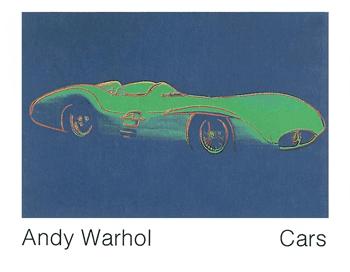 Formula 1 Car by Andy Warhol