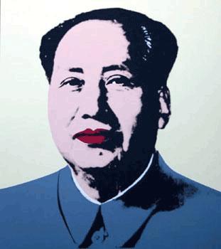 Mao by Andy Warhol