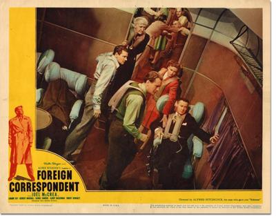 Lobby Card: Foreign Correspondent
