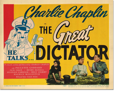 The Great Dictator Lobby Card