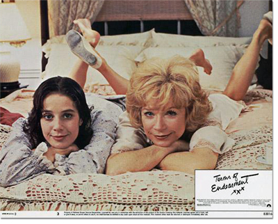 Seven Studio Lobby Cards for Terms of Endearment