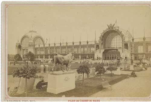 Palais du Champ de Mars - one of the key locations at the Exposition