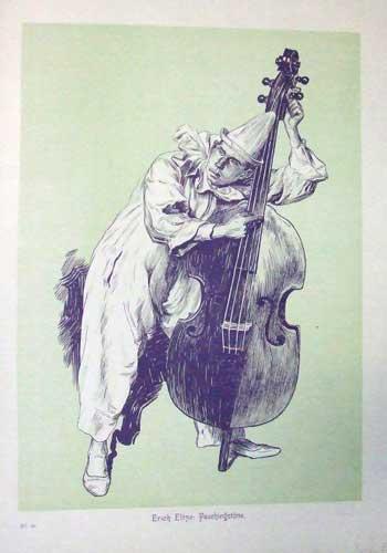 Clown with a Cello
