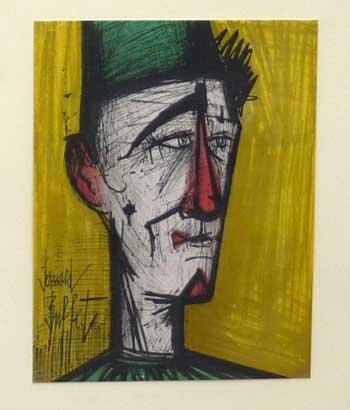 Jojo the Clown by Bernard Buffet
