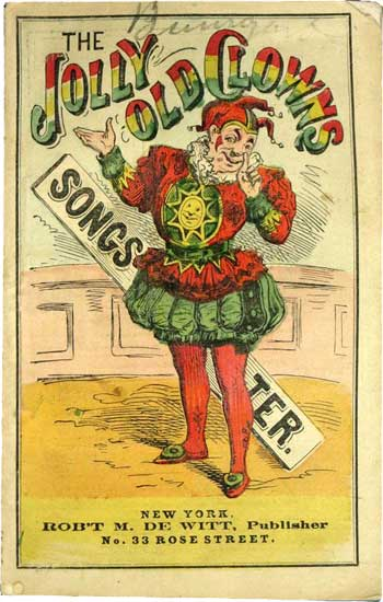 The Jolly Old Clown's Songster
