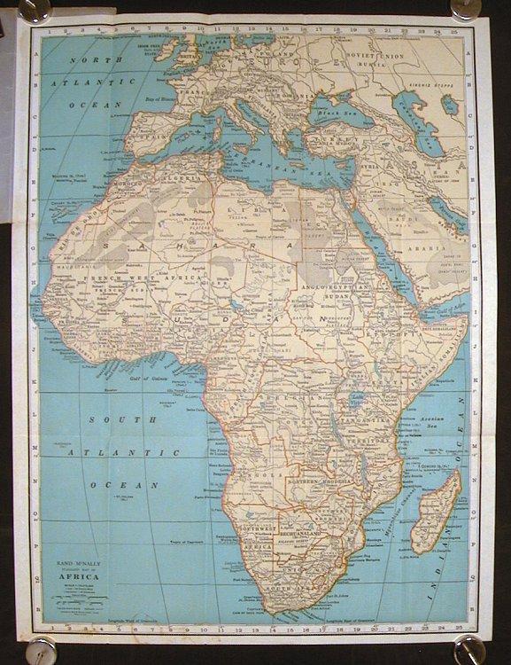 Africa Pocket Map