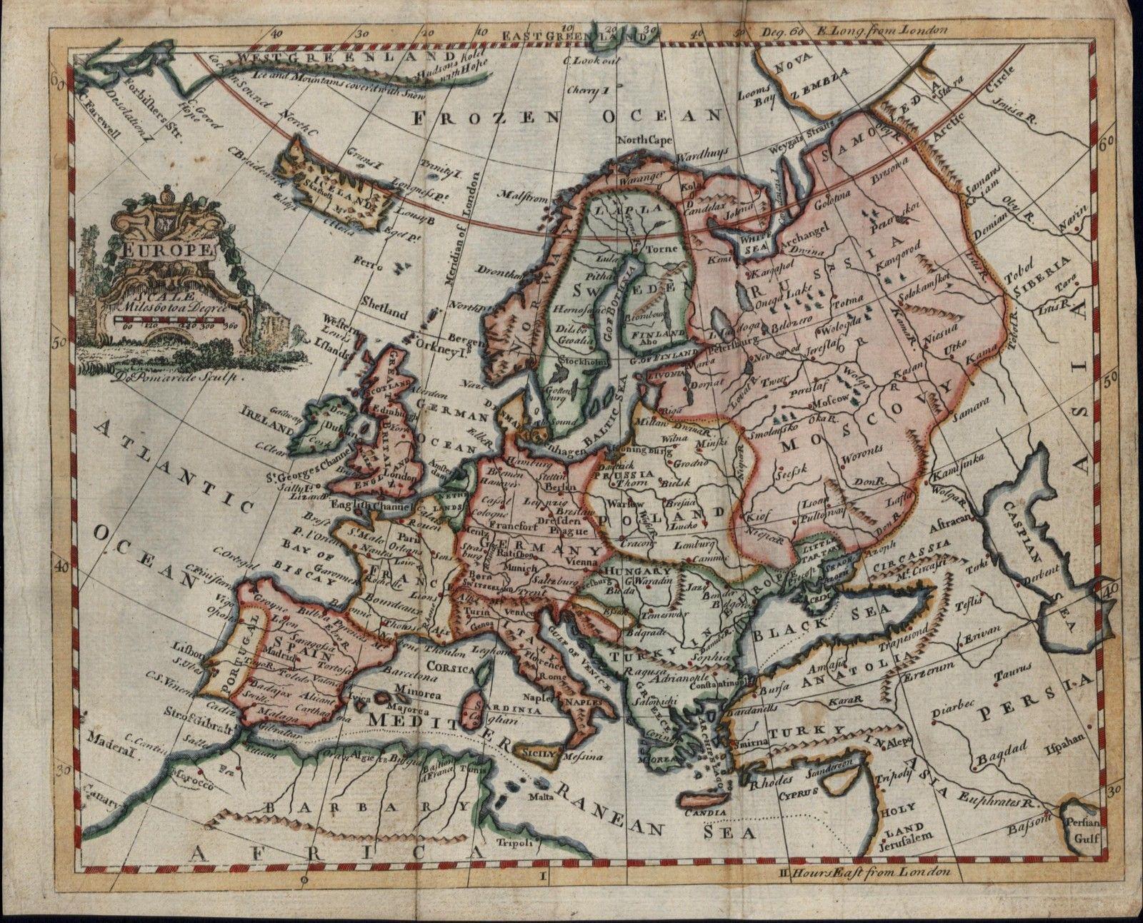 Mid-18th Century Empires