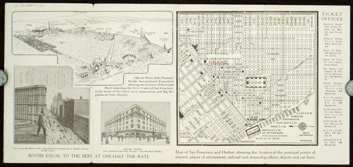 San Francisco Traveler's Guide 1913