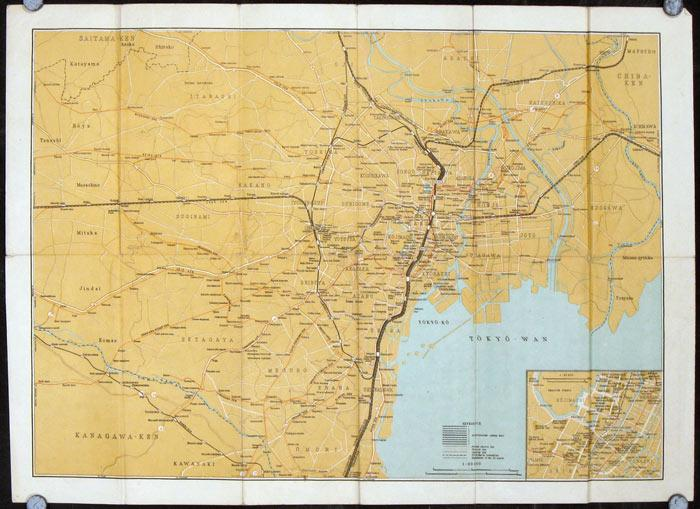 Guide Map of Tokyo 1946