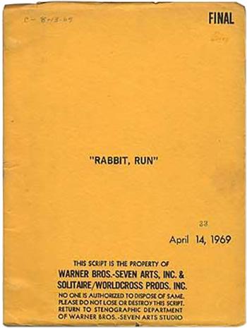 Screenplay: Rabbit, Run