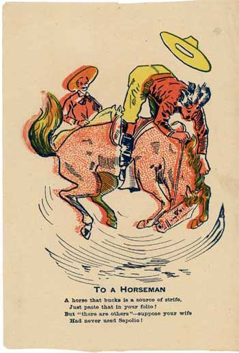 To A Horseman
