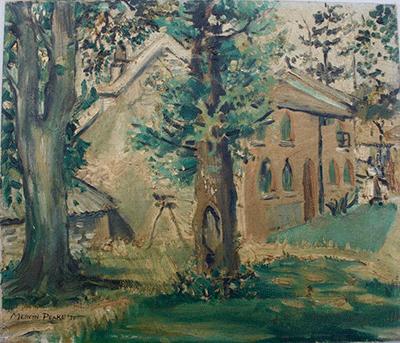 Mervyn Peake painting, 1930