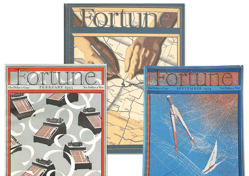 Beautiful covers from Fortune Magazine