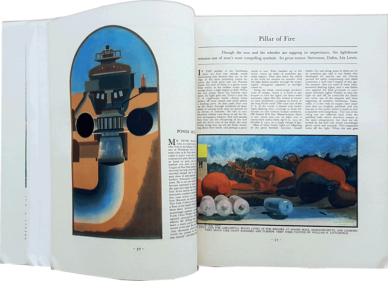 Interior of Fortune Magazine