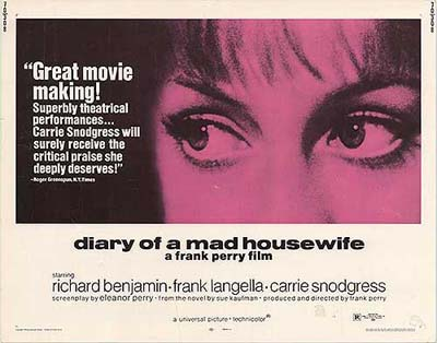 Diary of a Mad Housewife - 1970
