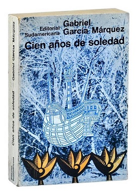 1967 edition of One Hundred Years of Solitude by Gabriel Garcia Marquez
