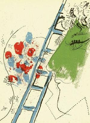 Die Leiter von Marc Chagall