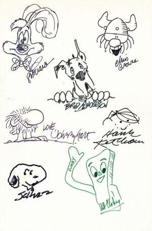 7 Künstler zeichnen ihre berühmtesten Figuren