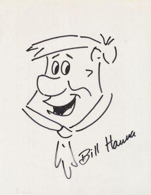 Fred Feuerstein, gezeichnet von Bill Hanna