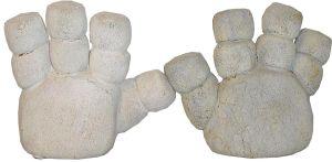 Die Hände des Marschmallow Manns – Original-Requisit aus dem Ghostbusters-Film