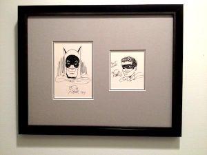 Original-Zeichnungen von Batman-Erfinder Bob Kane