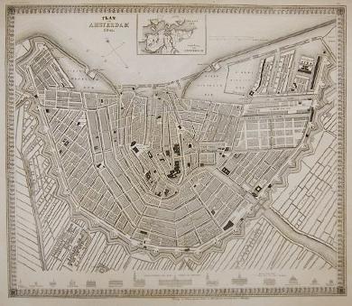 Stadtplan von Amsterdam