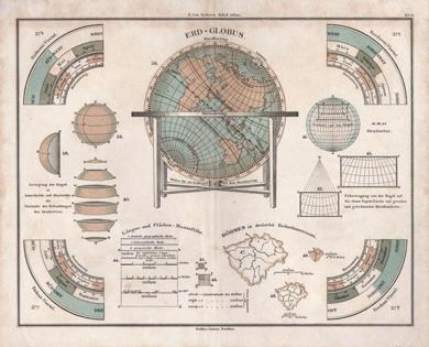 Globenkarte