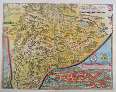 Karte der Stadt Salzburg