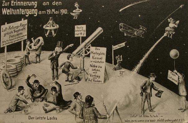 Zur Erinnerung an den Weltuntergang am 19. Mai 1910