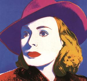 Andy Warhol obras: Ingrid