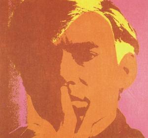 Andy Warhol obras: Autorretrato