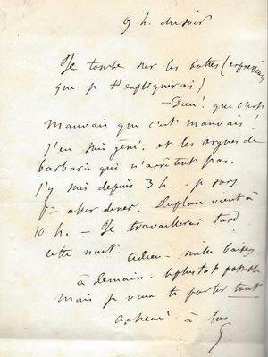 Gustave Flaubert an seine Maitresse Louise Colet