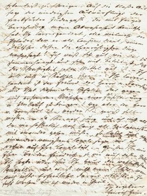 Heinrich Heine an Heinrich Brockhaus