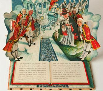 Cinderella Pop Up-Buch