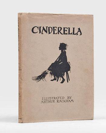 Englische Ausgabe von Cinderella Illustriert von Arthur Rackham