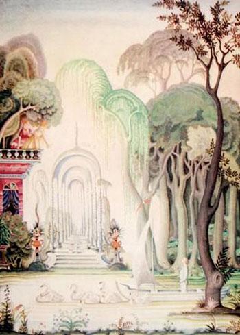 Hans Christian Andersens Märchen in englischsprachiger Ausgabe Illustriert von Kay Neilsen