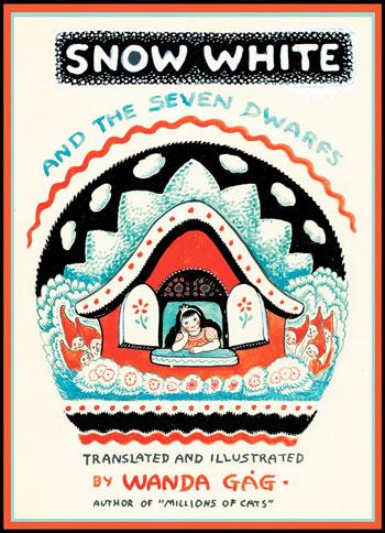 Original Coverillustration, Snow White and the Seven Dwarves von Wanda Gag