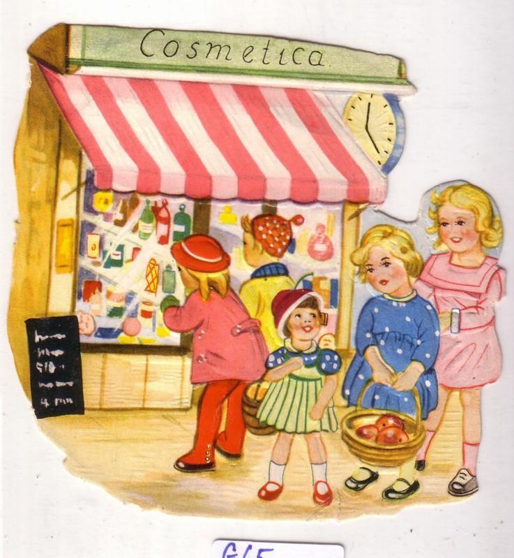 Personen vor einem Kosmetik-Geschäft