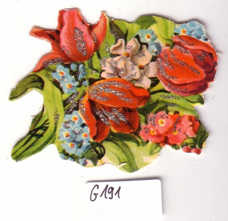 Glanzbild Tulpenstrauß