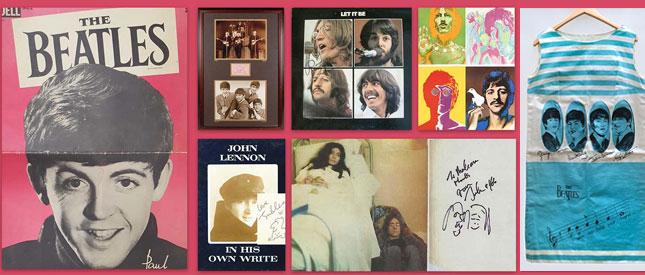 The Beatles: Seltene Sammlerstücke zu den Fab Four