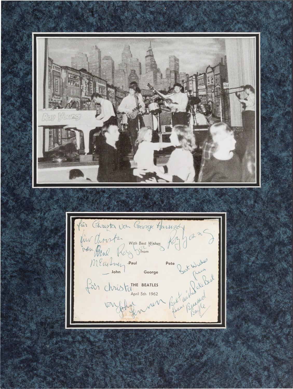 Signiertes Foto