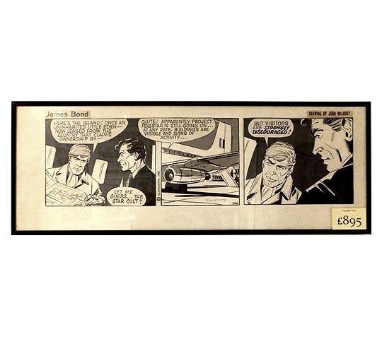 James Bond-Comicstrip