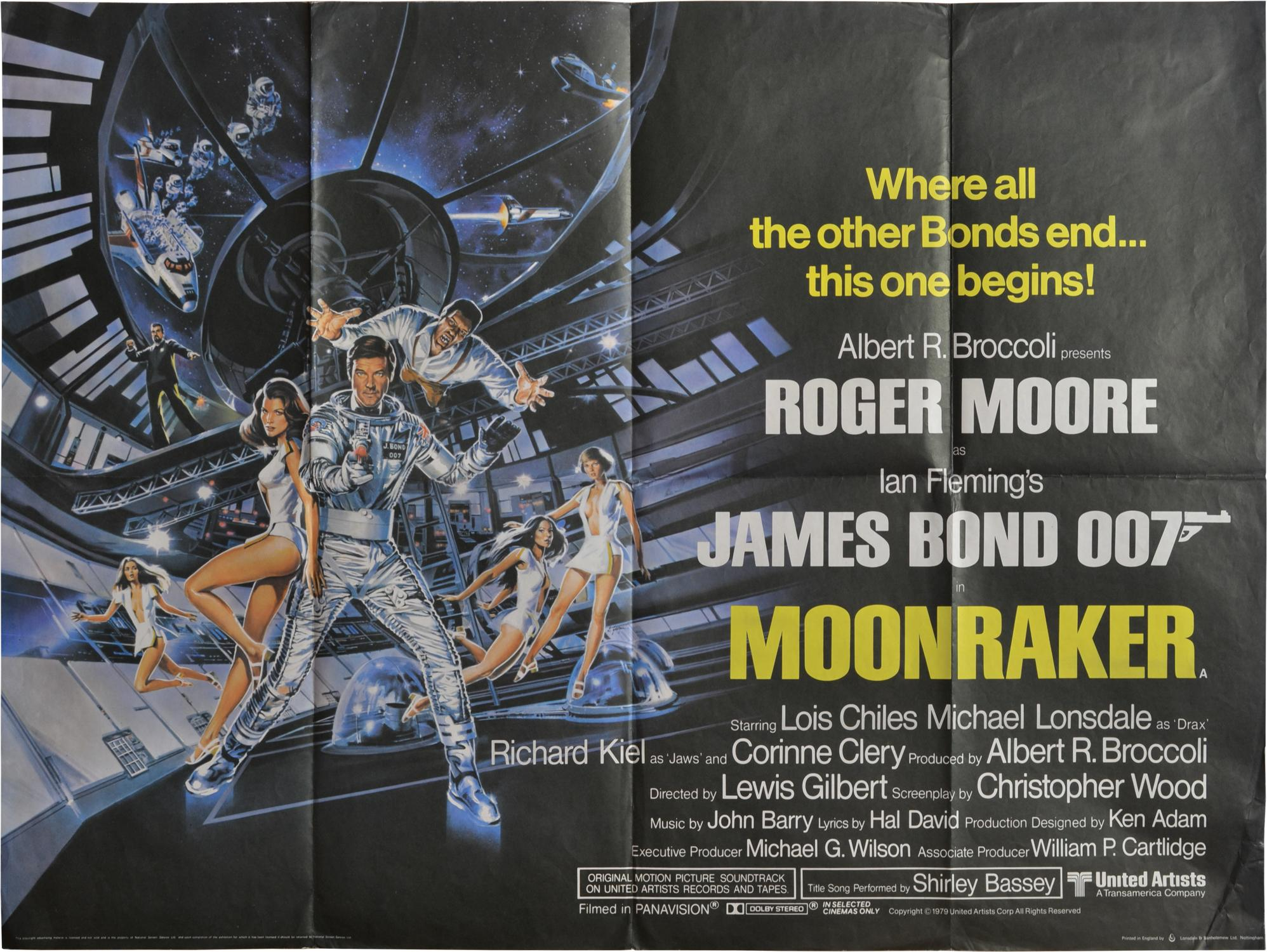 Filmposter Moonraker